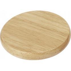 Posavasos de madera con abrebotellas Scoll