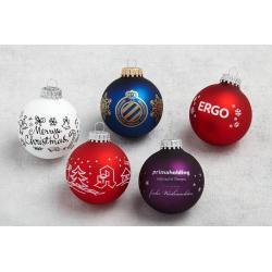 Bolas de Navidad Ø7cms personalizadas