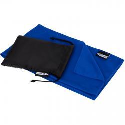Toalla refrescante deportiva de PET reciclado con bolsa Raquel
