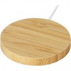 Base de carga inalámbrica magnética de bambú de 10w Atra