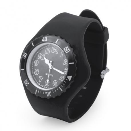 Reloj de algujas con pulsera de silicona Trepid