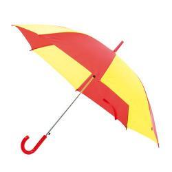 Paraguas rojo y amarillo Oros