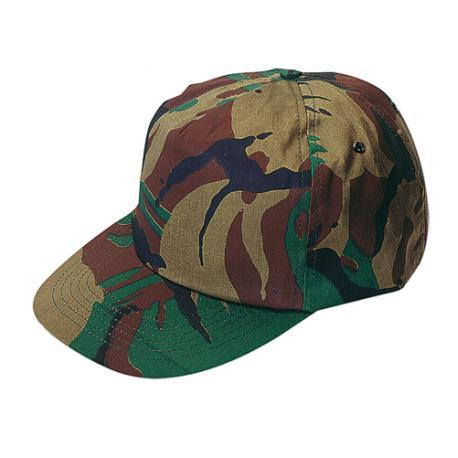 Gorra de visera plana camuflada Rambo