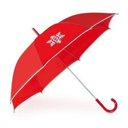 Paraguas rojo Navidad Haya
