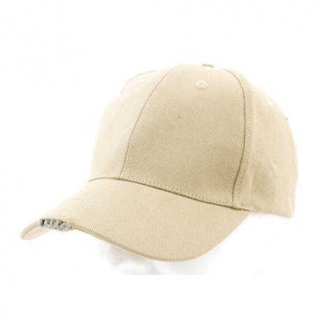 Gorra de algodón peinado Led