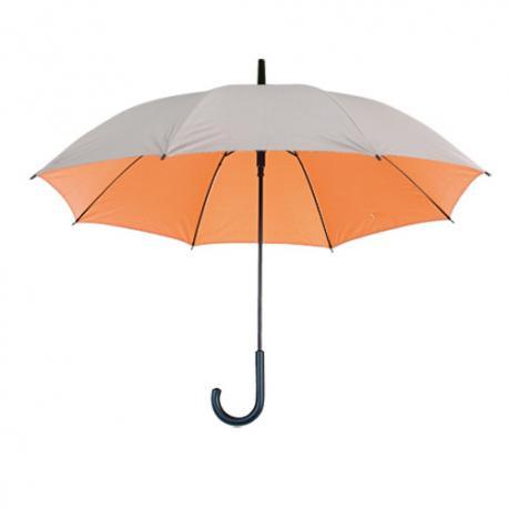 Paraguas clásico plateado con Ø 102 cm Cardin