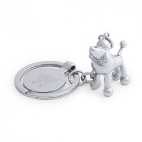 Llavero moneda diseño animalitos Hoinzo