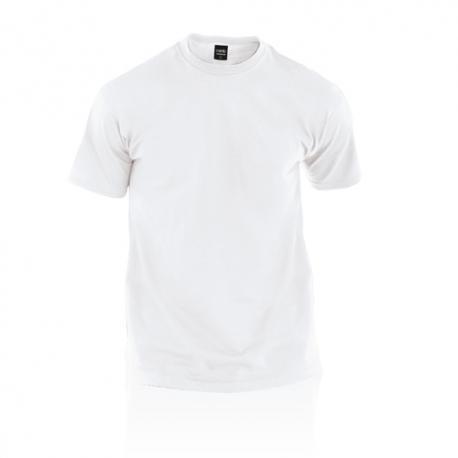 Camiseta adulto blanca Premium Ref.4482