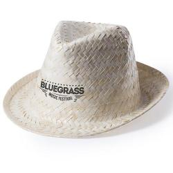 Sombrero tipo borsalino de paja Altex