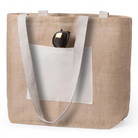 Bolsa de yute y algodón Farus