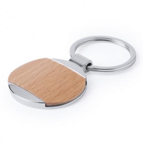 Llavero metal y madera Vitolok