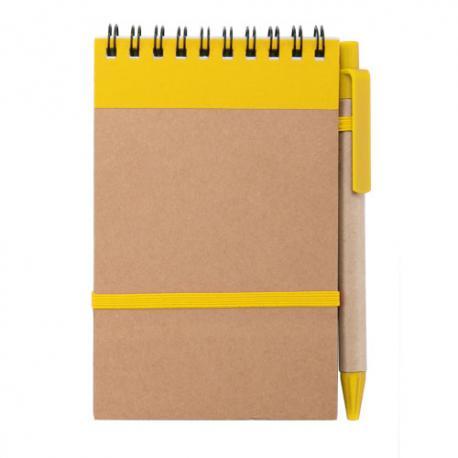 Libreta y bolígrafo ecológico Ecocard