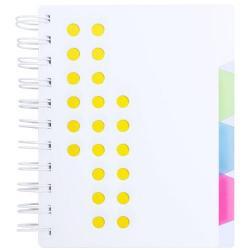 Libreta de anillas con separadores Bucef