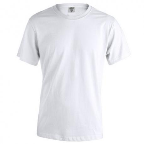 Camiseta adulto blanca KEYA Mc150