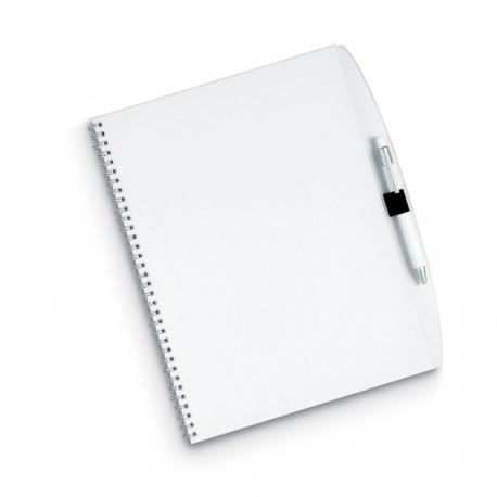 Bloc de notas a4 y bolígrafo Studious