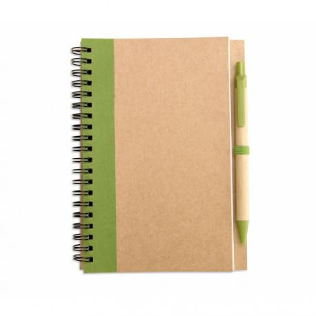 Libreta papel reciclado Sonora plus