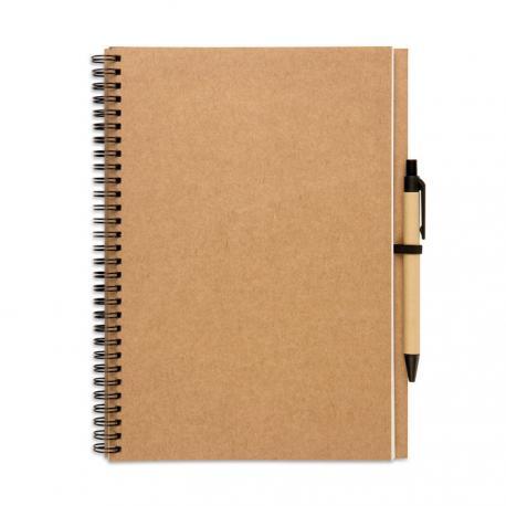Libreta de papel reciclado Bloquero plus
