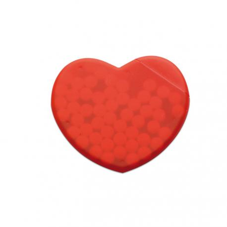 Caja corazón de caramelos Coramint