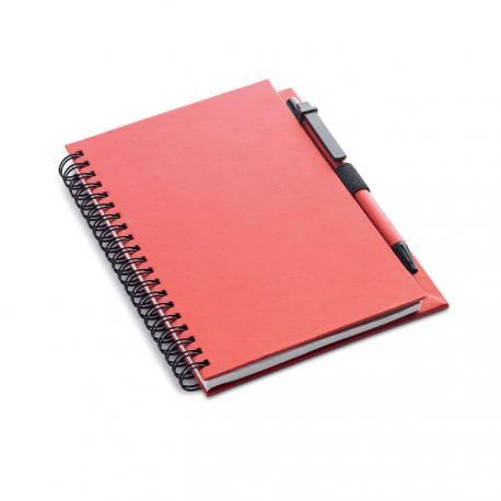 Libreta reciclada y bolígrafo Colobloc