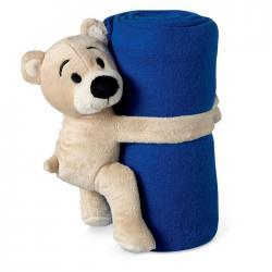 Manta para bebés polar con osito