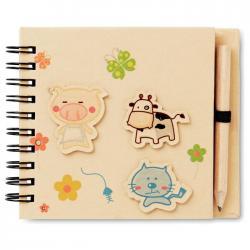 Cuaderno infantil Piggy