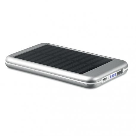 Power bank solar de aluminio 4000 mAh Solarflat
