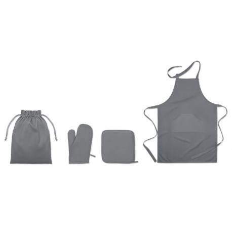 Set de cocina en algodón Set avental