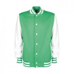Sudadera unisex 300 g m2 Varsity jacket fv001