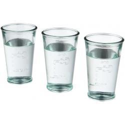 Set de 3 vasos de agua