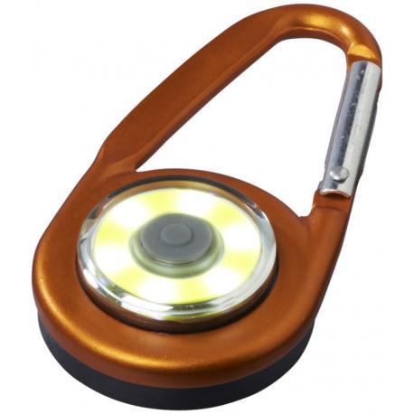 Llavero mosquetón con luz COB The eye