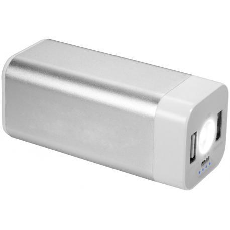 Batería externa con linterna 8000mAh Mega Volt