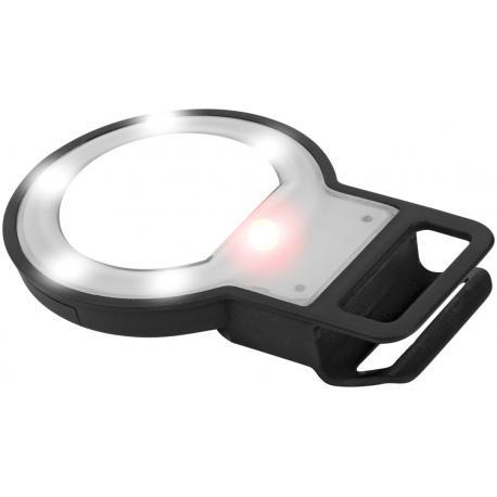 Flash LED con espejo para selfies