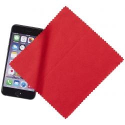 Paño de microfibra para limpiar pantallas con estuche