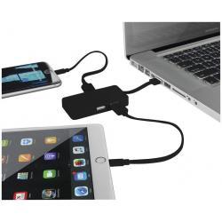 Hub de USB con doble cable Grid