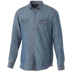 Camisa vaquera de manga larga Sloan