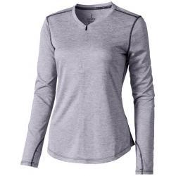Camiseta cool fit de manga larga de mujer quadra
