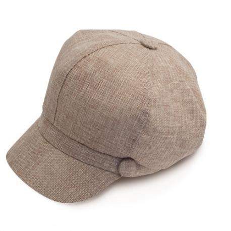 Gorra de lino Danae