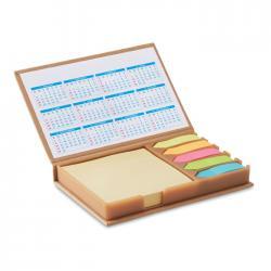 Set de notas y calendario Memocalendar