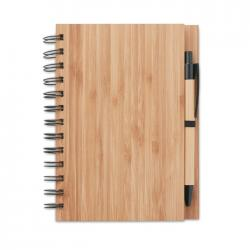 Cuaderno de notas bambú Bambloc