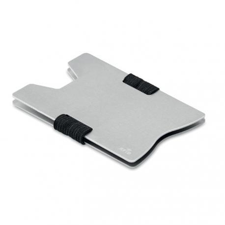 Tarjetero de aluminio con rfid Secur