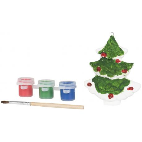 Pintar un árbol de navidad
