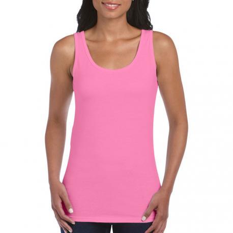 Camiseta de tirantes Ladies soft style tank top Ref.MDGI642L