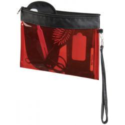 Pequeña bolsa de viaje transparente Sid
