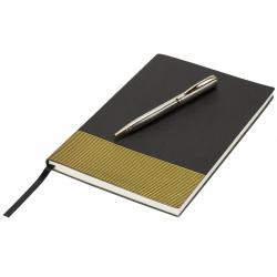 Set de regalo con libreta a5 y bolígrafo Midas