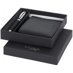 Set de regalo de bolígrafo y cartera Baritone