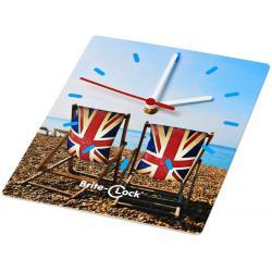 Reloj de pared rectangular Brite-Clock®