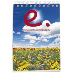 Cuaderno a7 con cubierta sintética Desk-Mate®