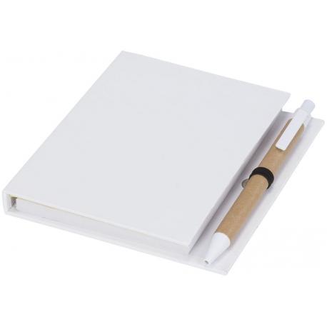 Bloc de notas adhesivas y bolígrafo Colours