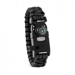 Pulsera kit de supervivencia Survival