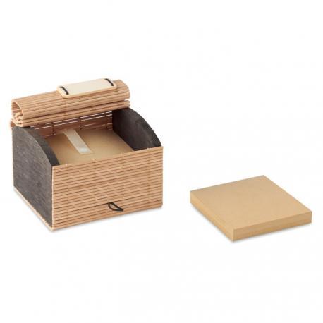 Bloc de notas bambú 500 hojas Cortina block